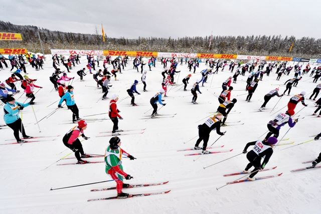 Tjejvasan - cross country ski race for women