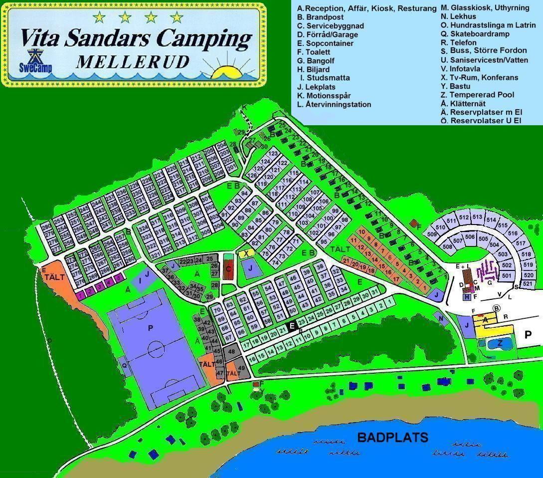 Mellerud Swecamp Vita Sandar/Ferienhäuser