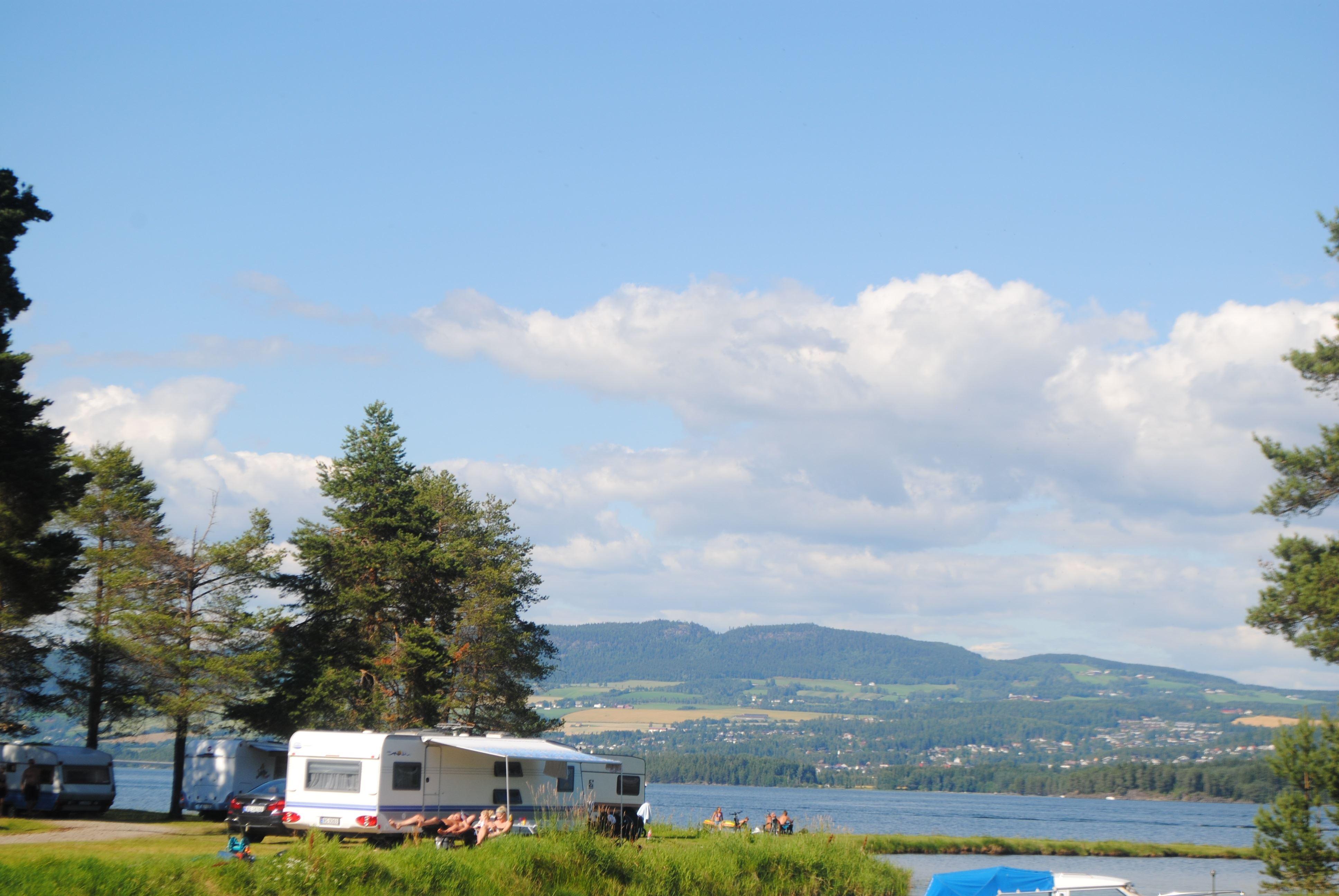Sveastranda Camping cabins