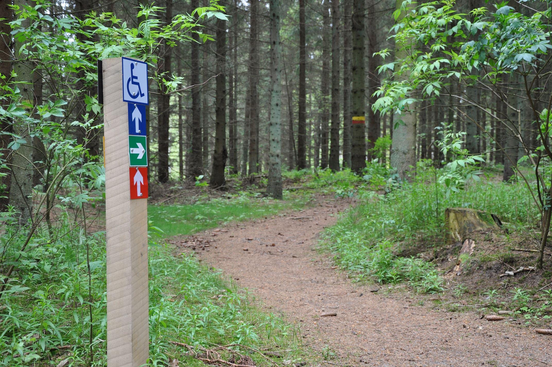 © Tomelilla kommun, Kronoskogen - Vandreture - Cykel