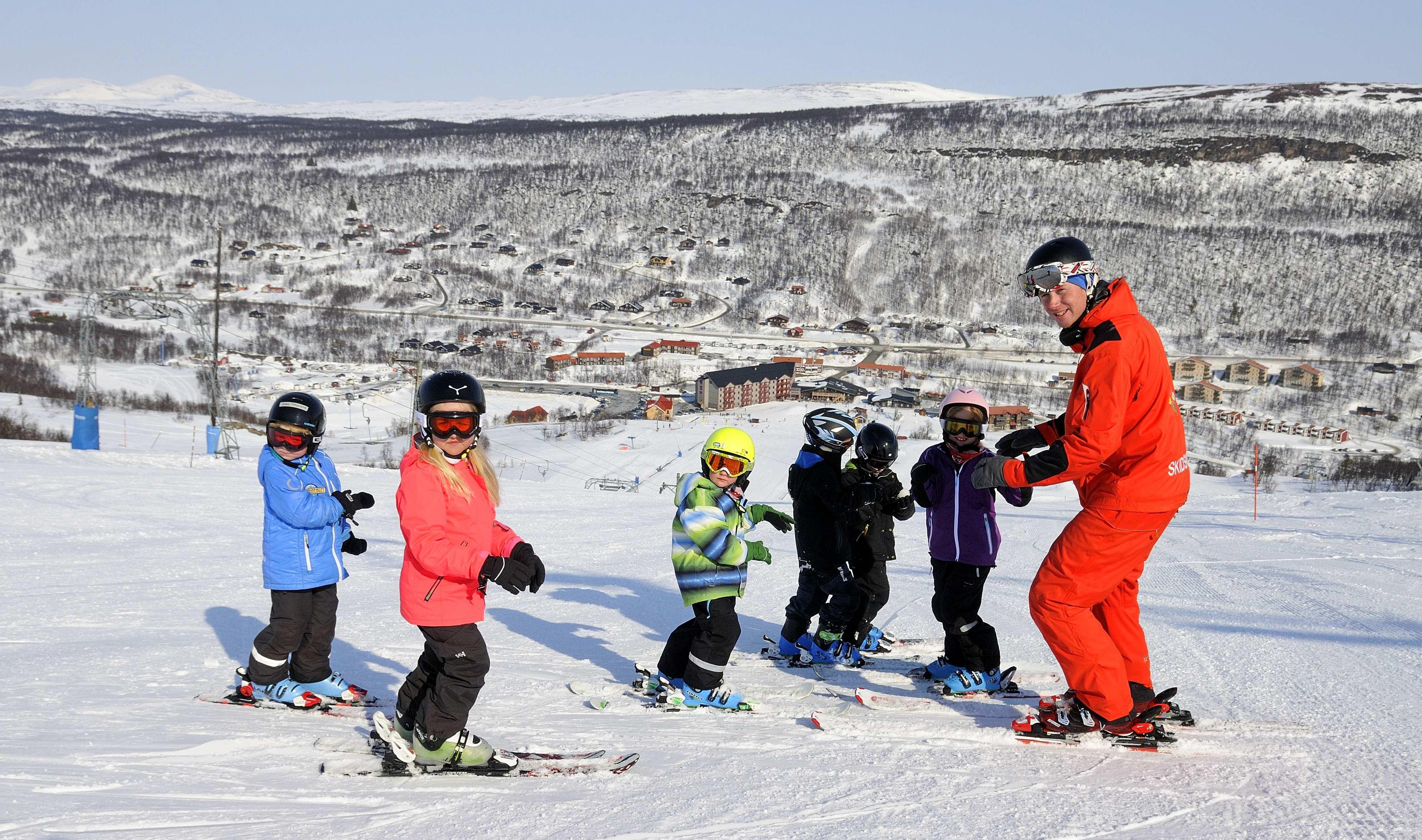 Skidskolan i Tänndalen