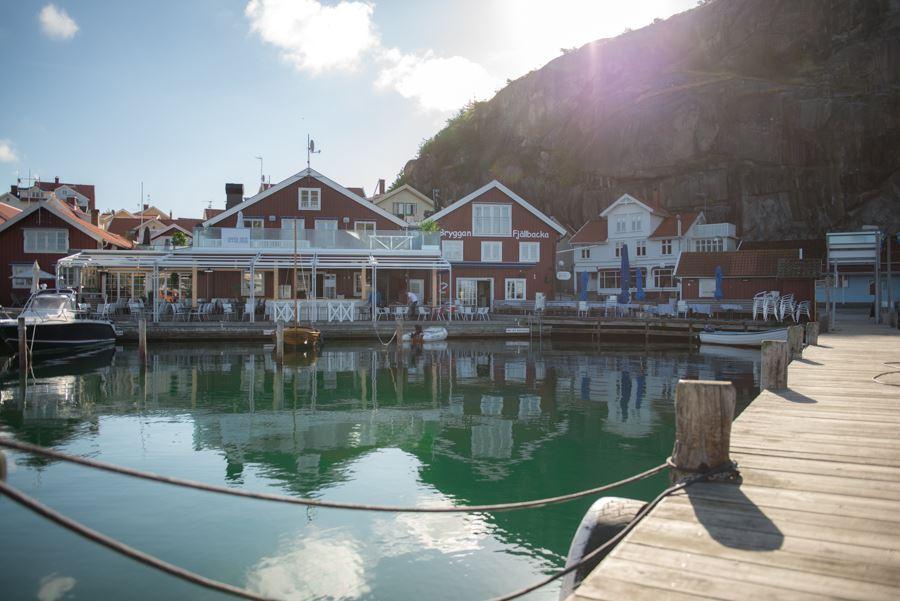 Stora Hotellet Bryggan Fjällbacka – boutiquehotell vid bryggkanten
