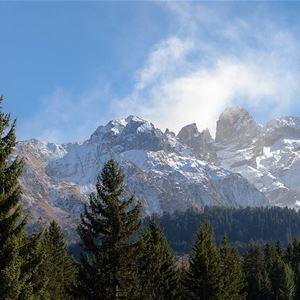 5 pièces 8 personnes skis aux pieds / LE BELVEDERE 6 (montagne de rêve)
