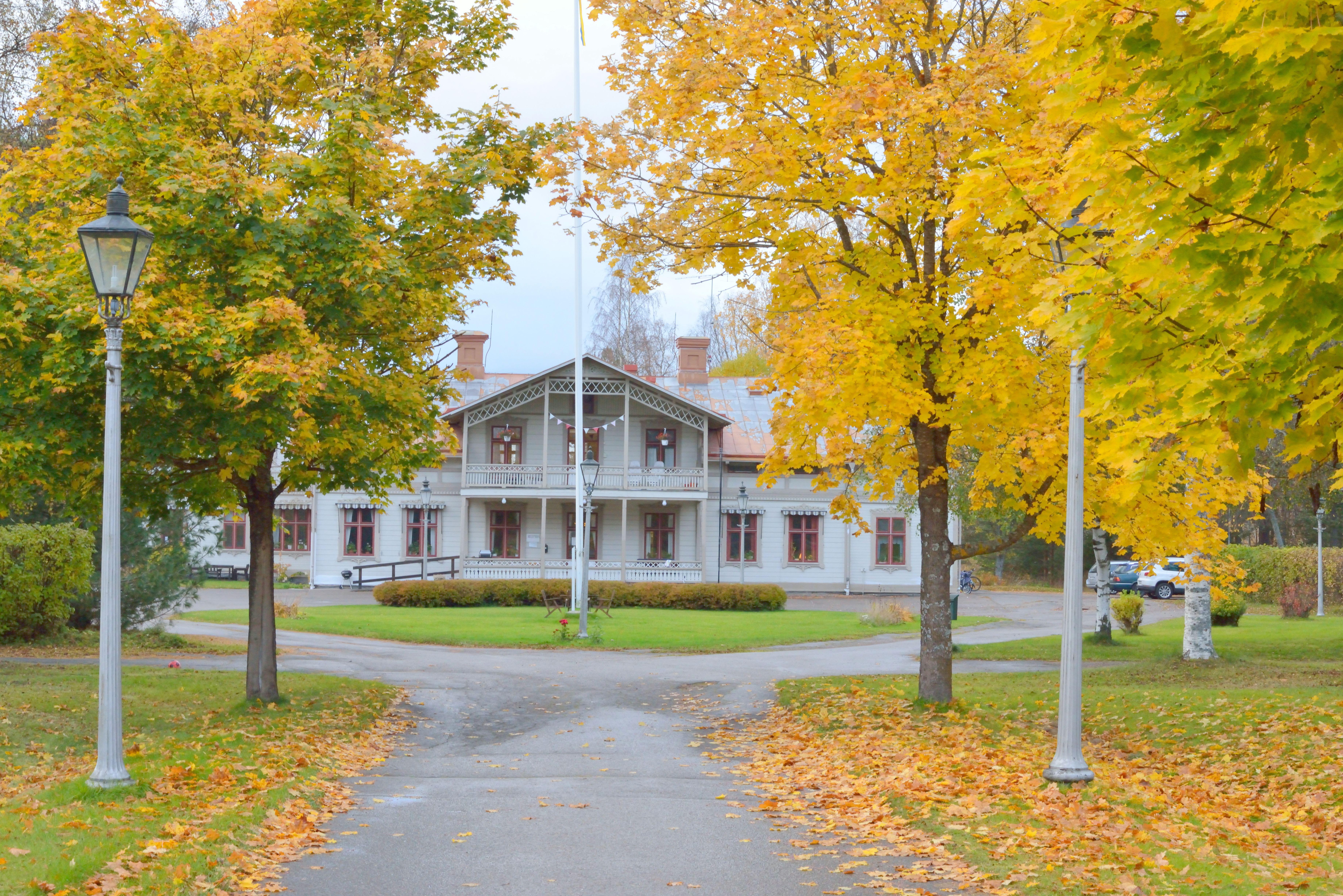 Borrgårdens vandrarhem i Ljusdal, SVIF
