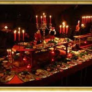 Christams buffet at restaurant Seagram in Föglö
