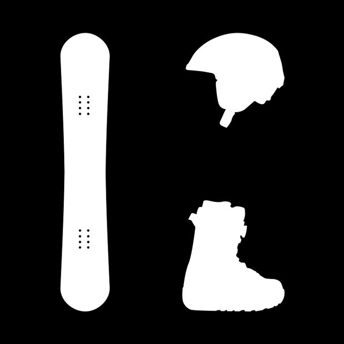 H) Snowboardpaket Standard