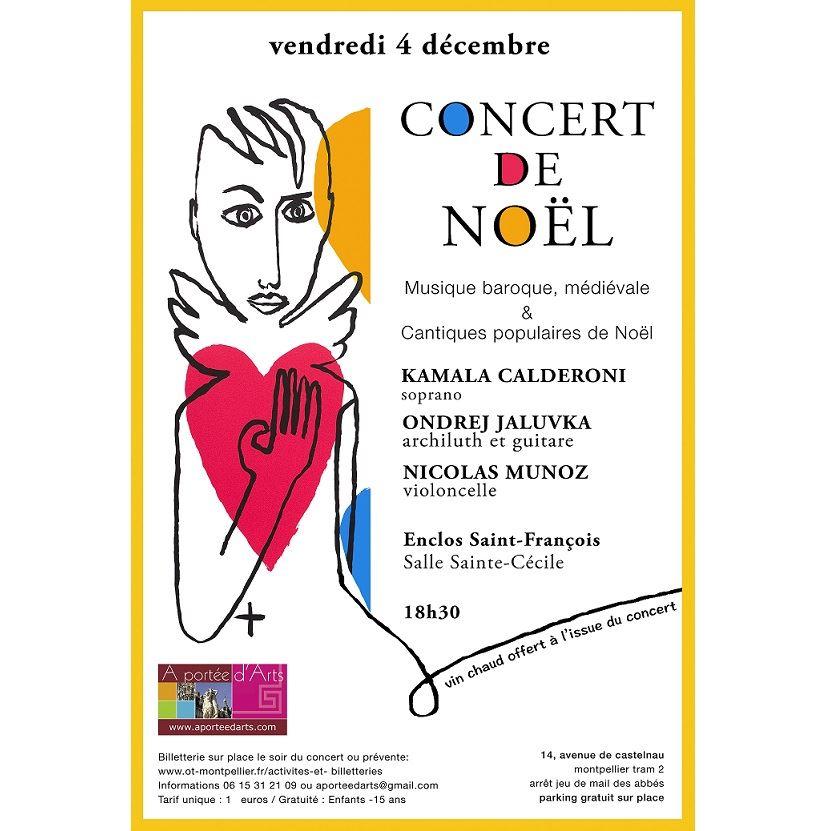Concert de Noël avec A Portée d'Arts