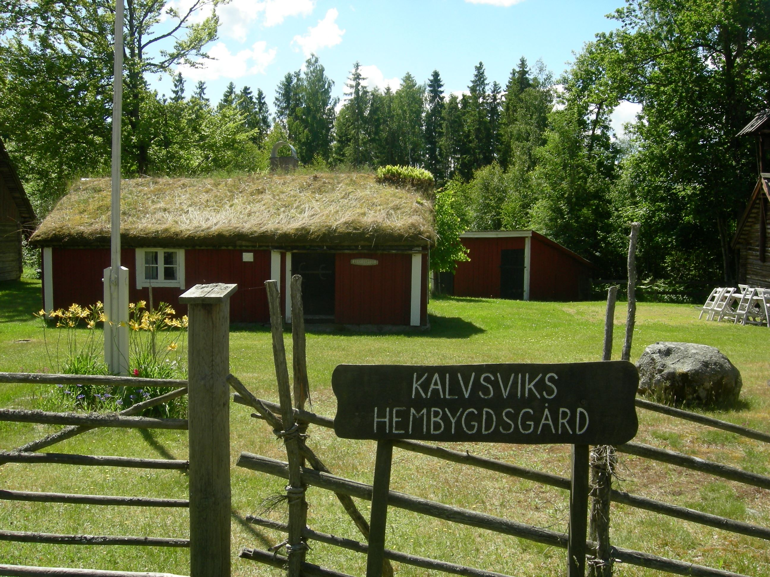Kalvsvik's local history society