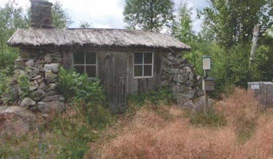 Nöjda Svens stuga i Kalvsvik