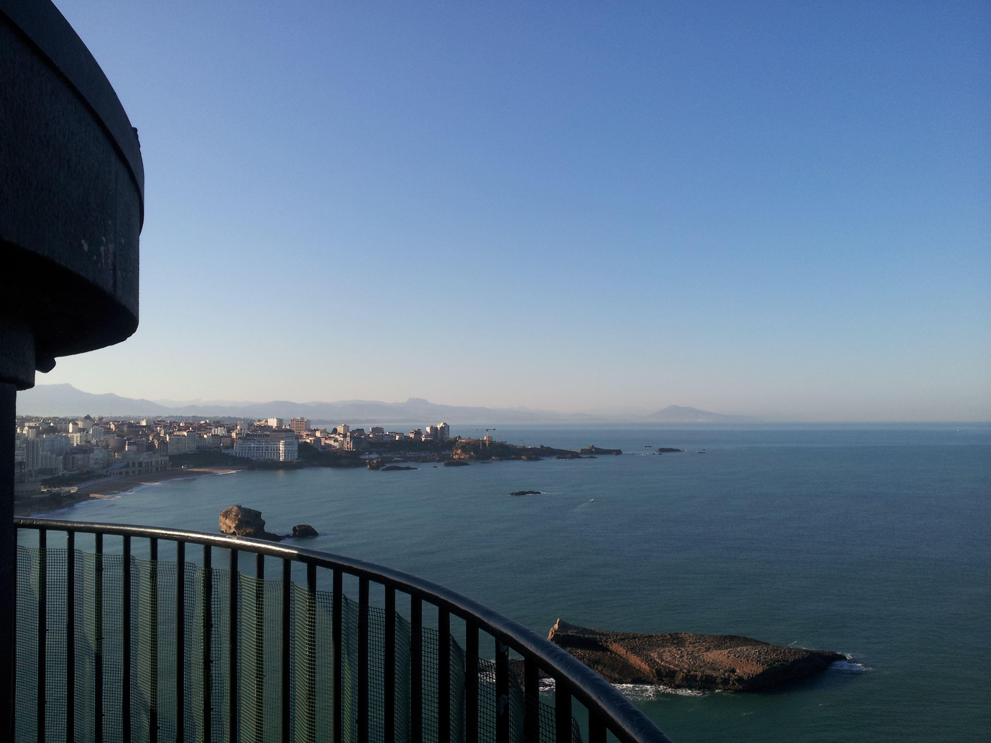 Lighthouse Visit- Biarritz