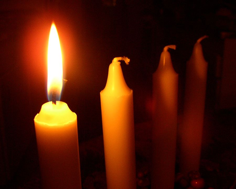 Fira första advent i Svedala centrum