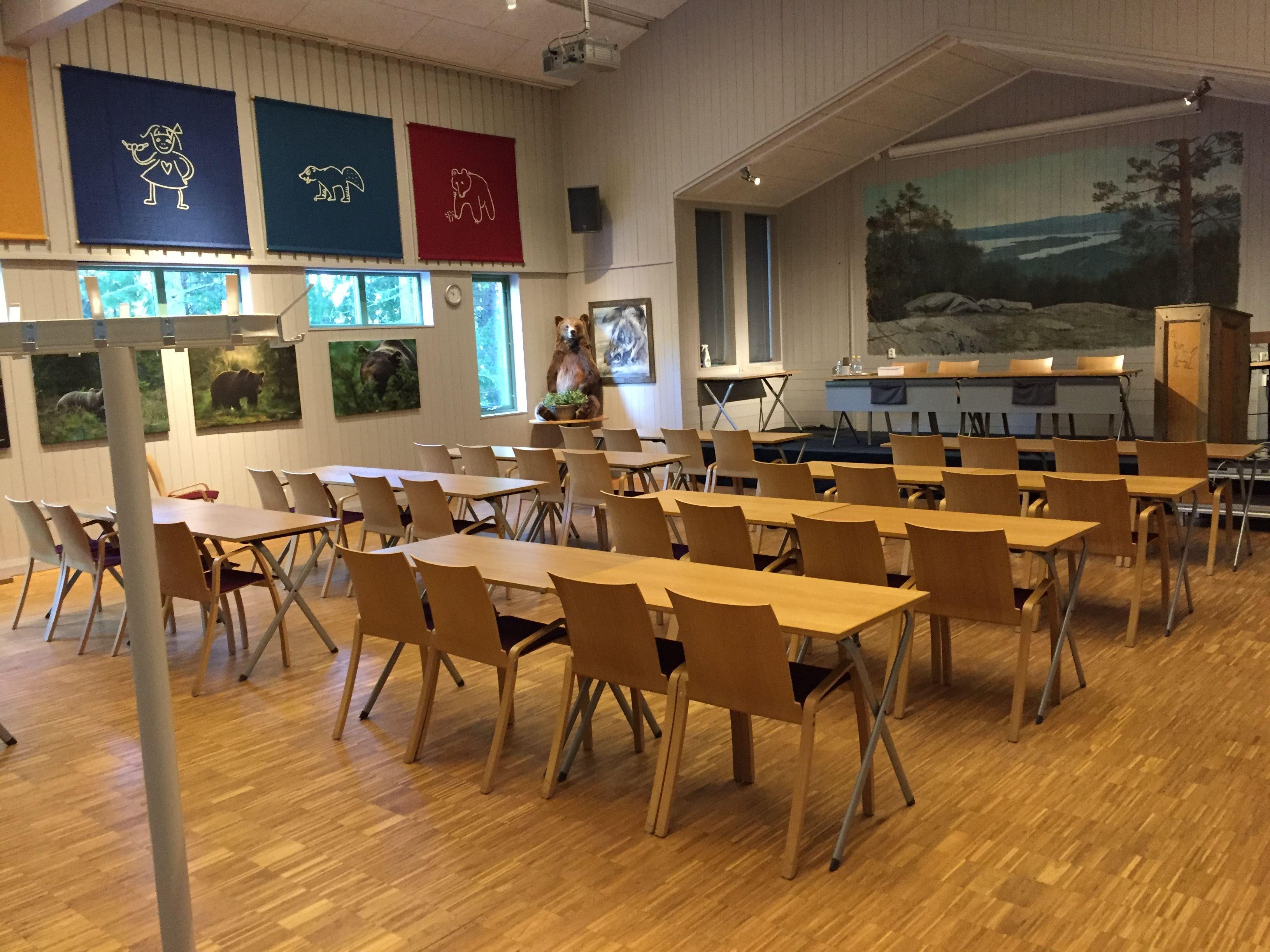 Konferensrum för upp till 100 personer