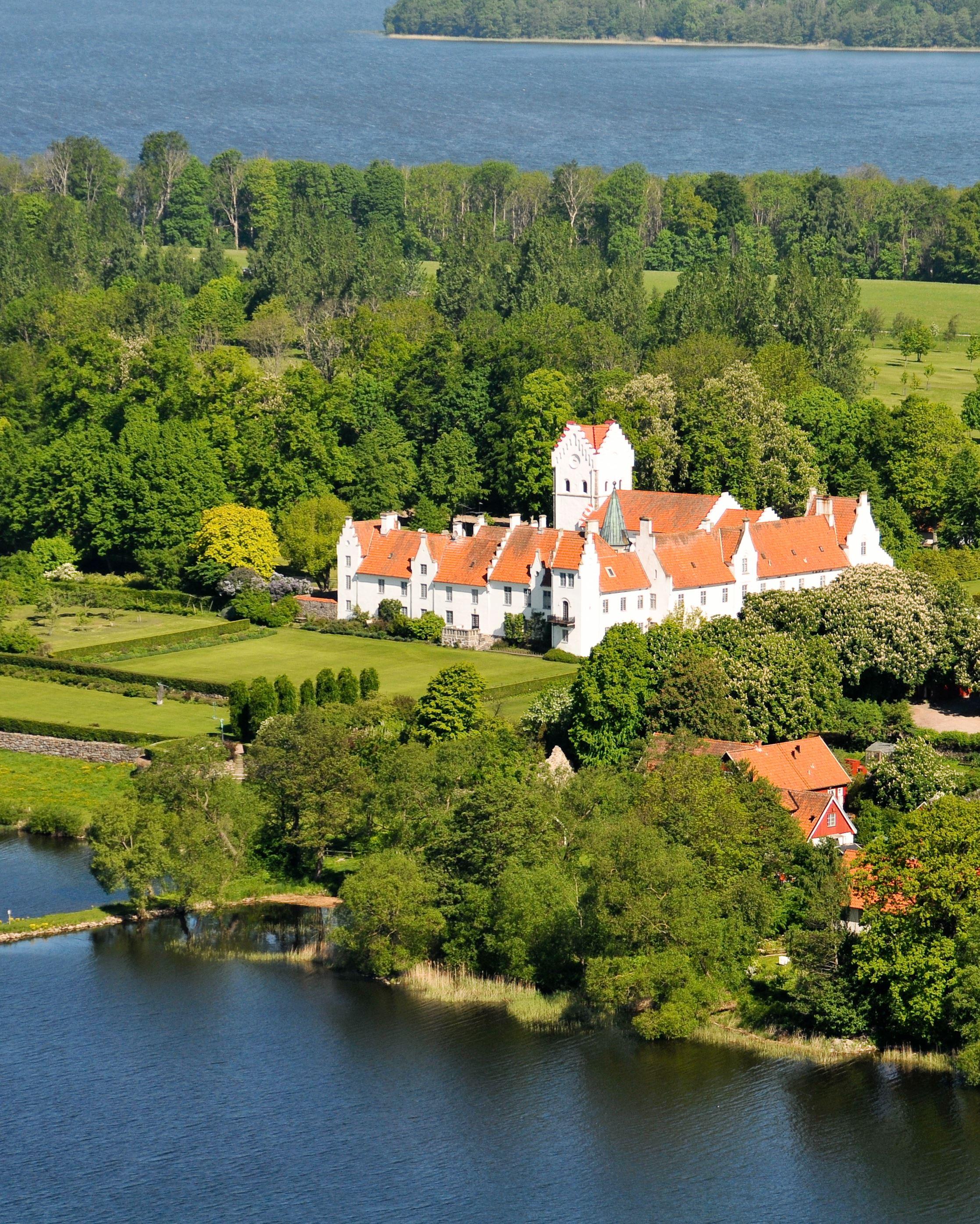 Bosjökloster Mansion gardens - Bosjökloster Slottsträdgårdar