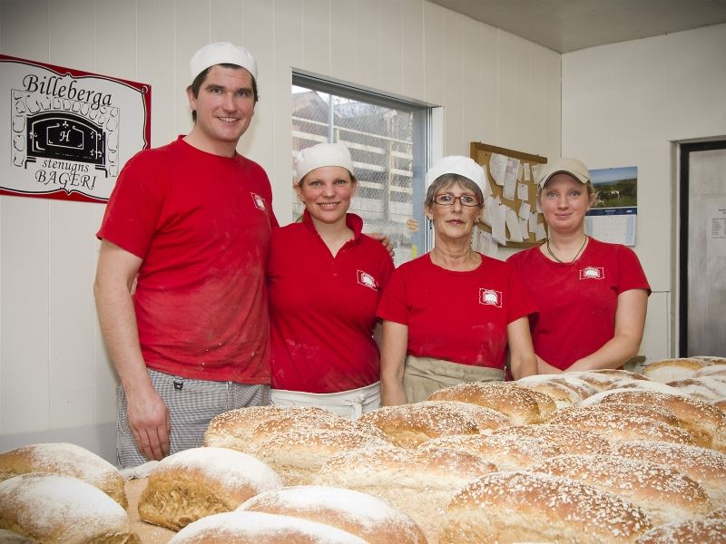 © Bageriets hemsida, Billeberga Stenugnsbageri stone oven bakery