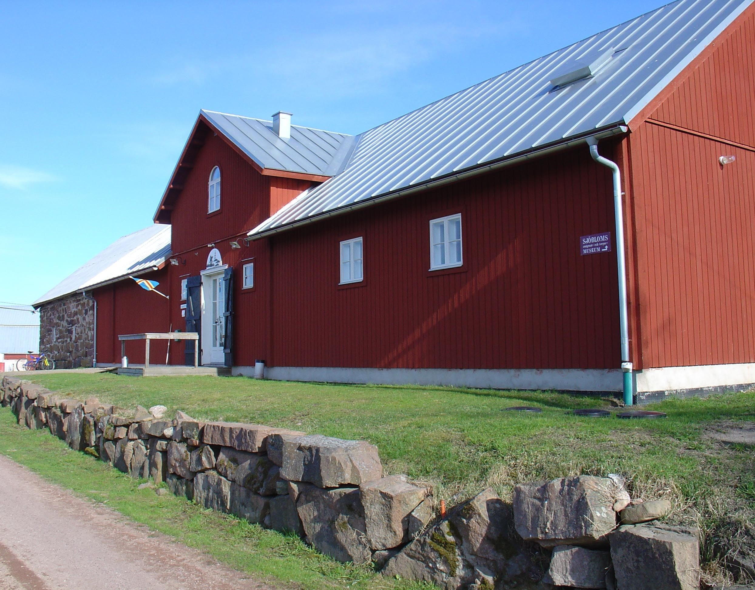 The Önningeby museum - Entrance