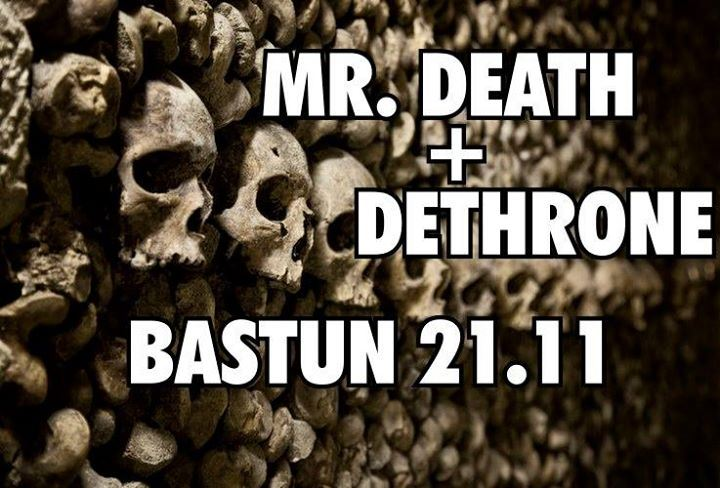 Live concert: Mr Death at Pub Bastun