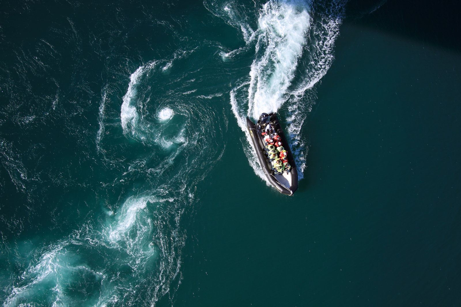 RIB-tur til havs