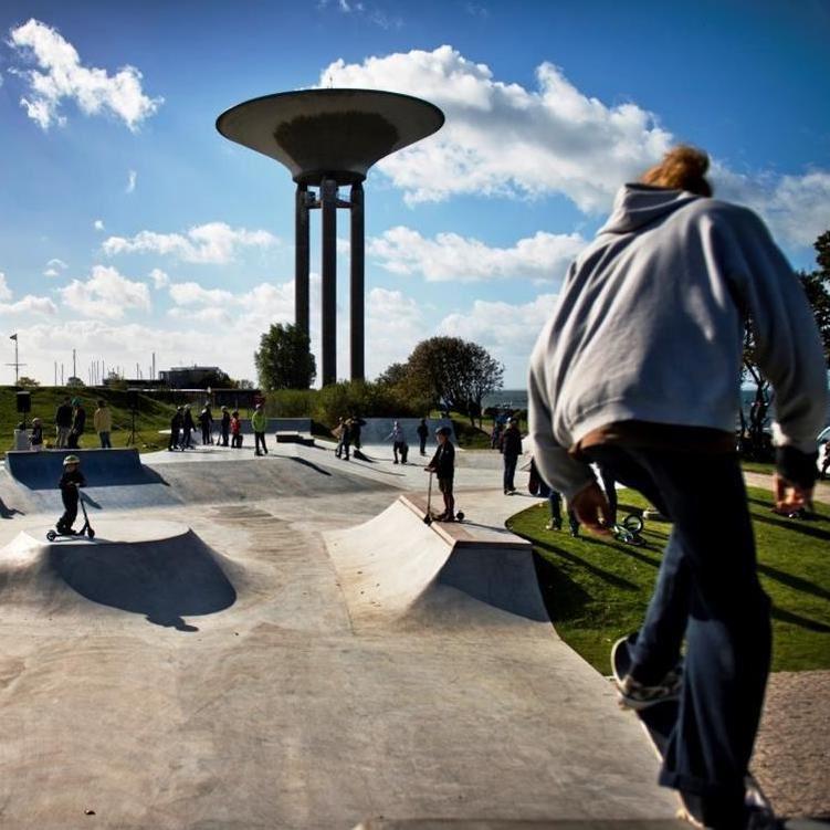 Foto: Emil Langvad, Landskronas skatepark, Lagunen