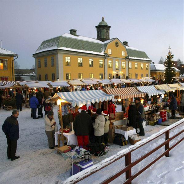 Julmarknad Falu Gruva