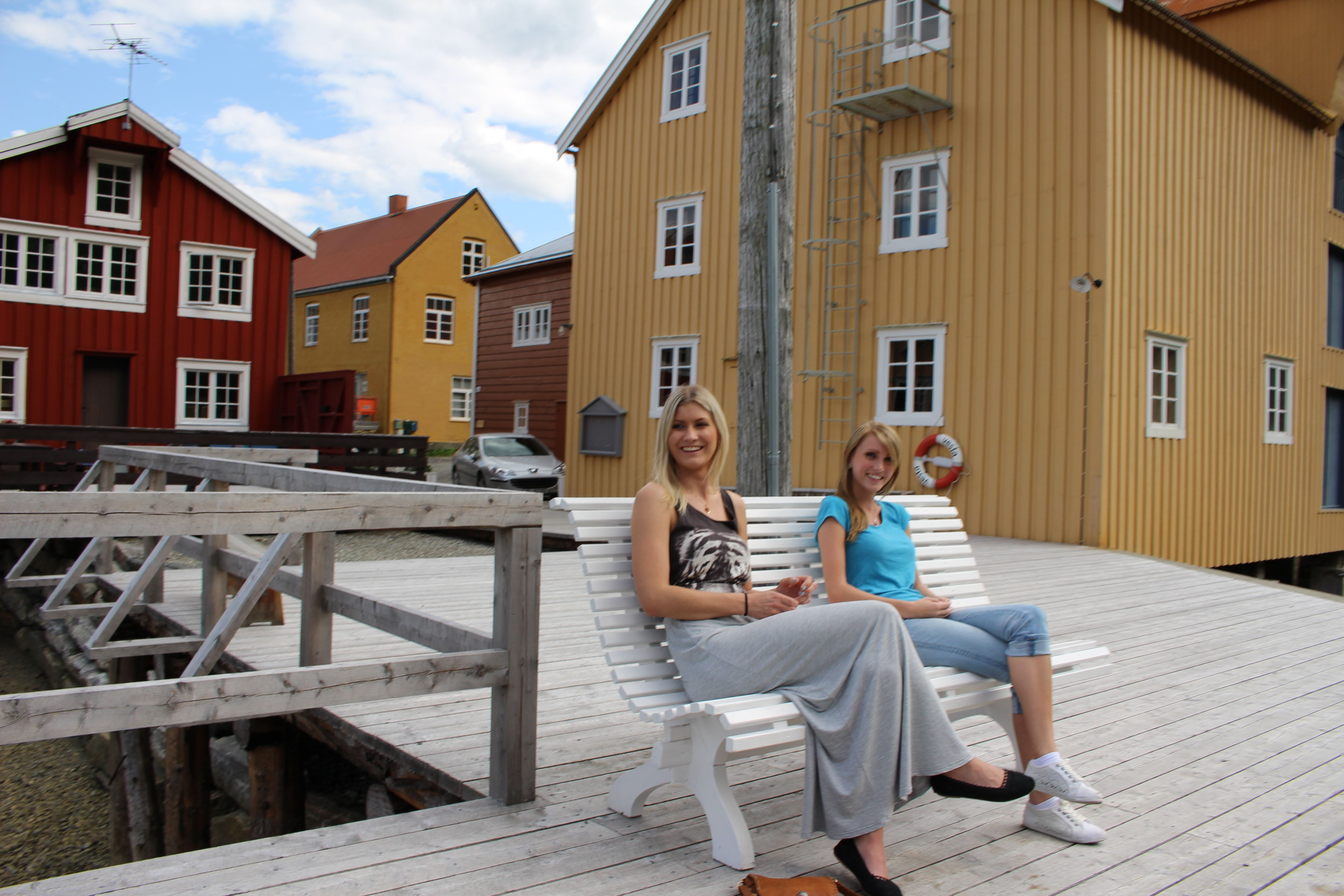 Sjøgata Street in Mosjøen