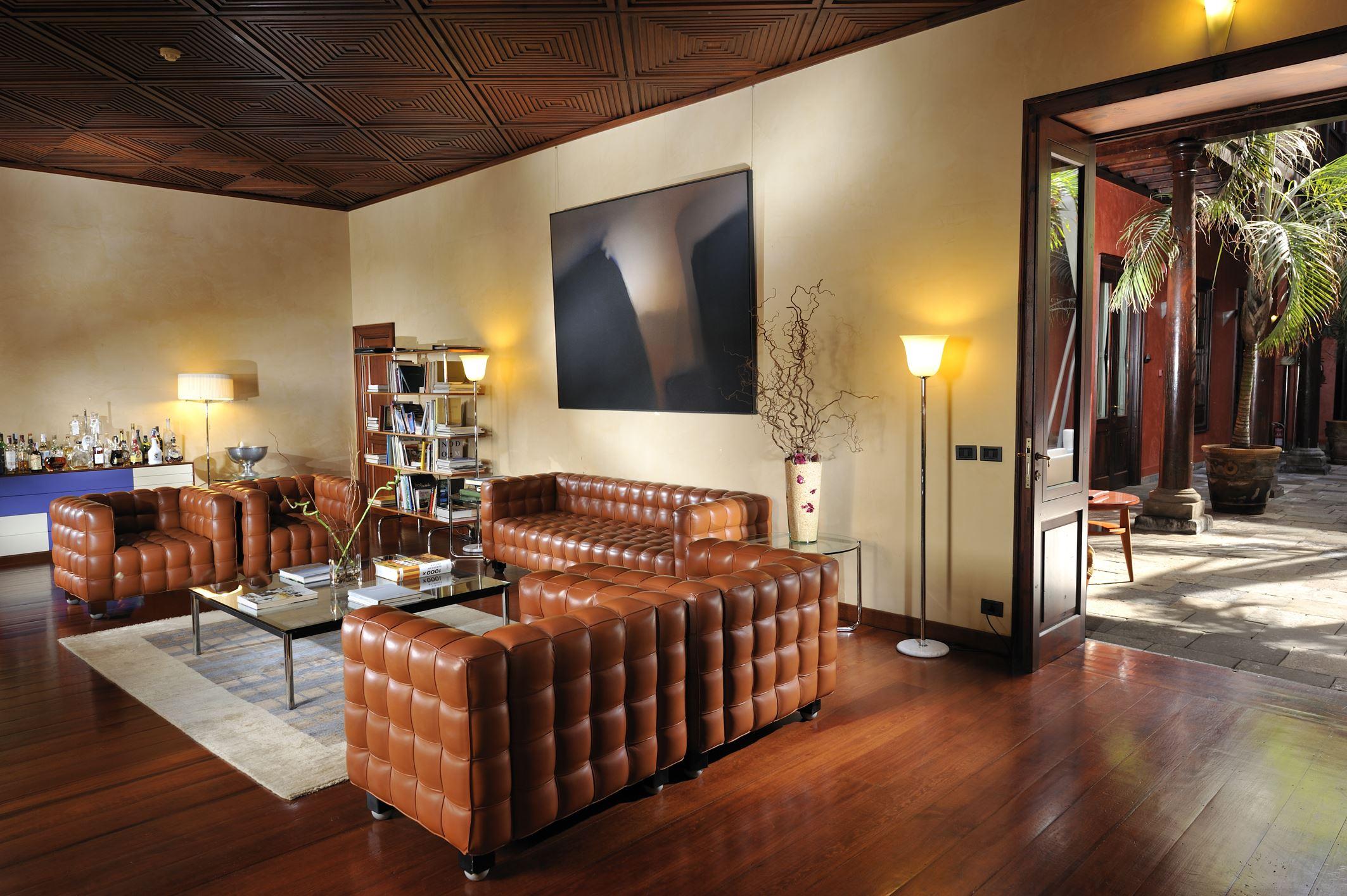 Hoffman Lounge på hotell San Roque, Garachico Teneriffa
