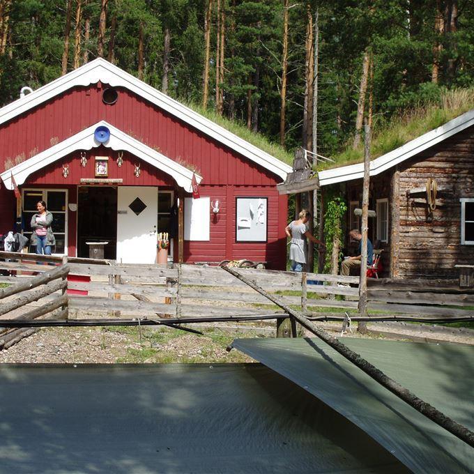 Entrance to Guldvaskningen i Ädelfors