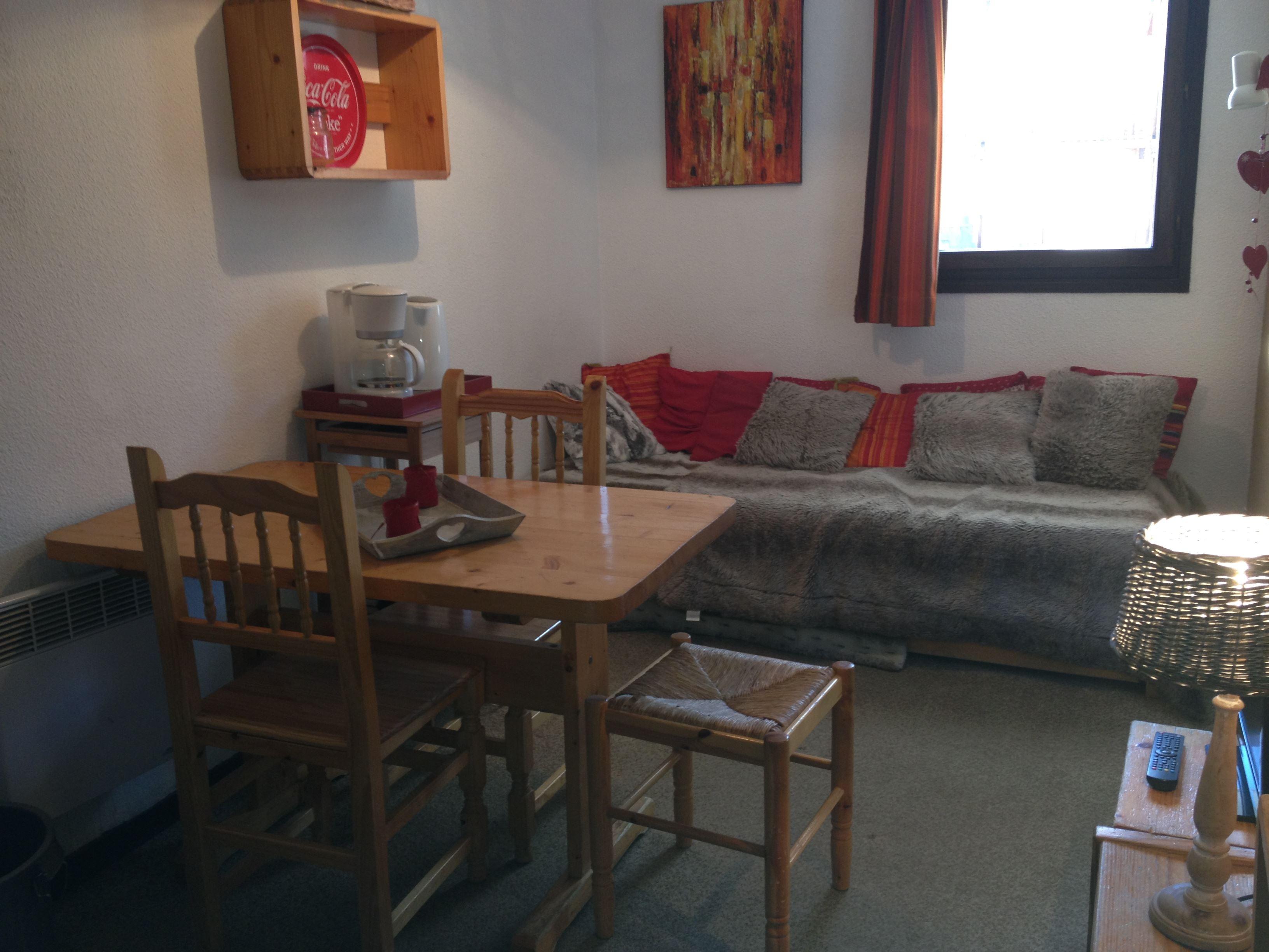 Lauzières 010 > 1 room + Cabin - 3 Persons - 1 Silver Snowflake (Ma Clé Immo)