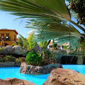 Poolen på Hotell Villa Cortes, Playa de Las Américas Teneriffa