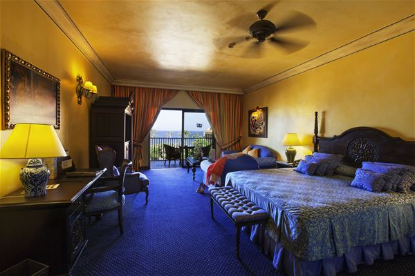 Dubbelrum med havsutsikt Hotell Villa Cortes, Playa de Las Américas Teneriffa