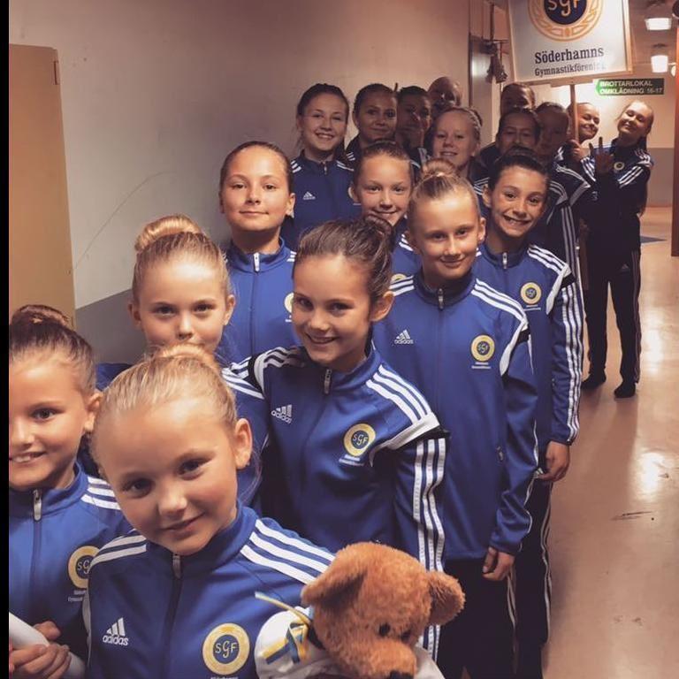 Söderhamns Gymnastikförenings årliga juluppvisning