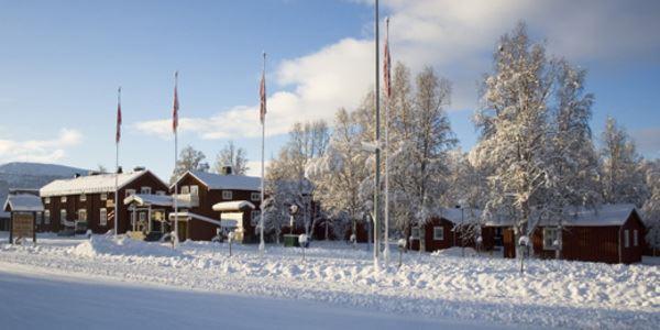 Hemavans Wärdshus sauna and hot tubs