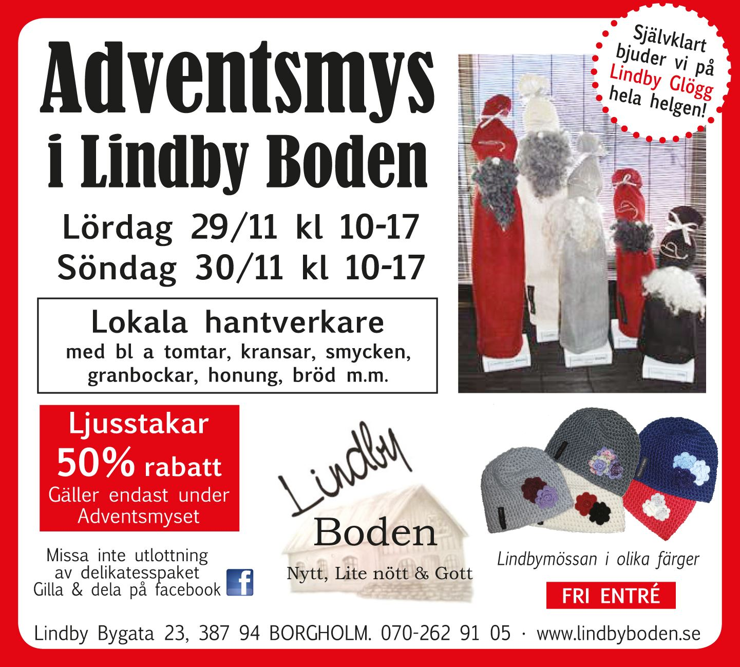 LIndbyboden, Julmys - LindbyBoden