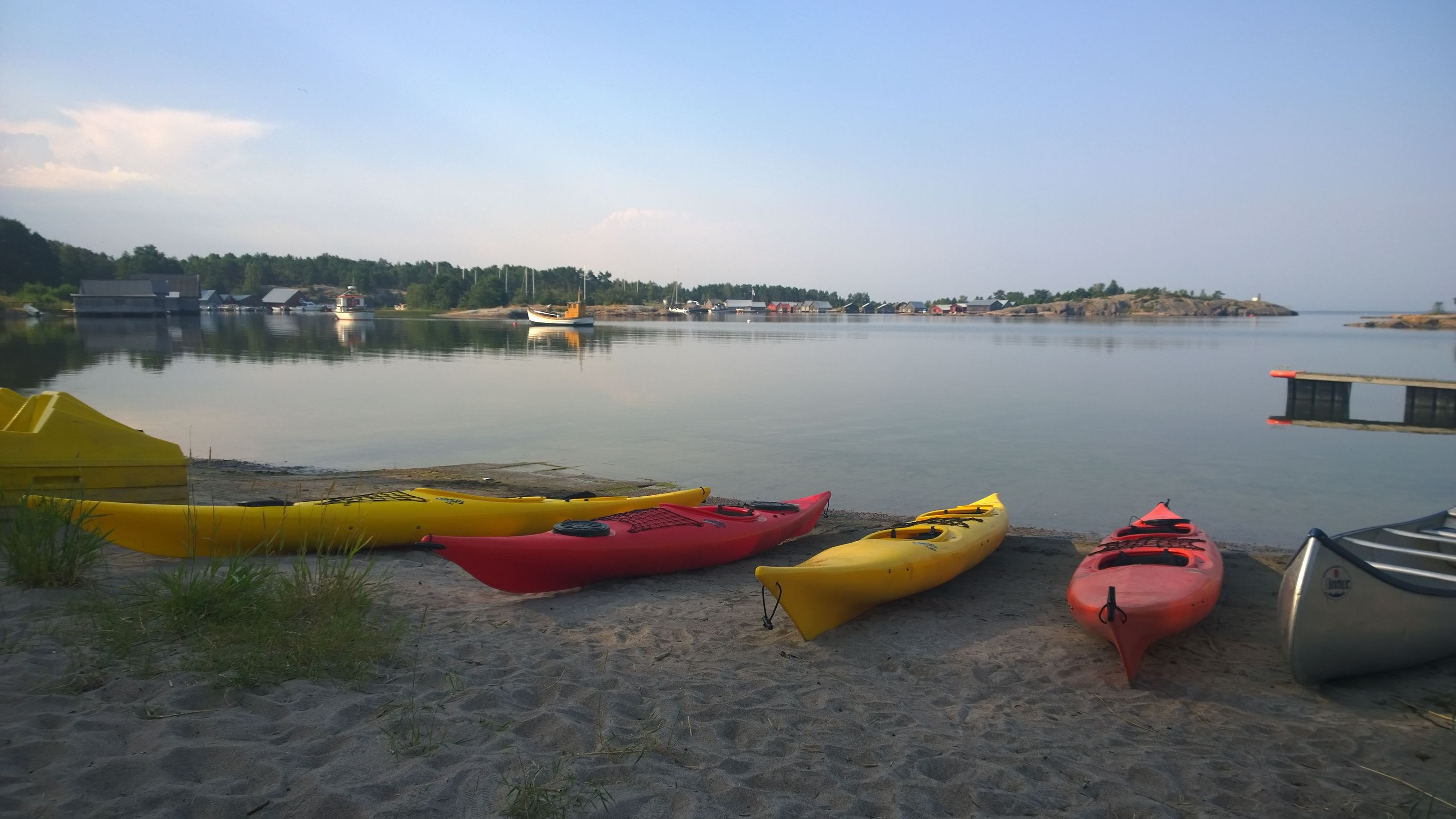 Single kayak for beginners