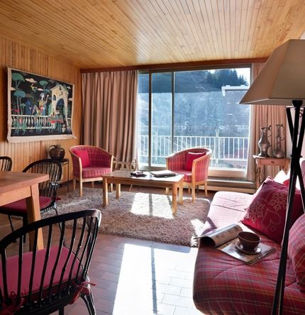 3 rooms, 6 people, ski-in ski-out / OURSE BLEUE 604 (Mountain of charm)
