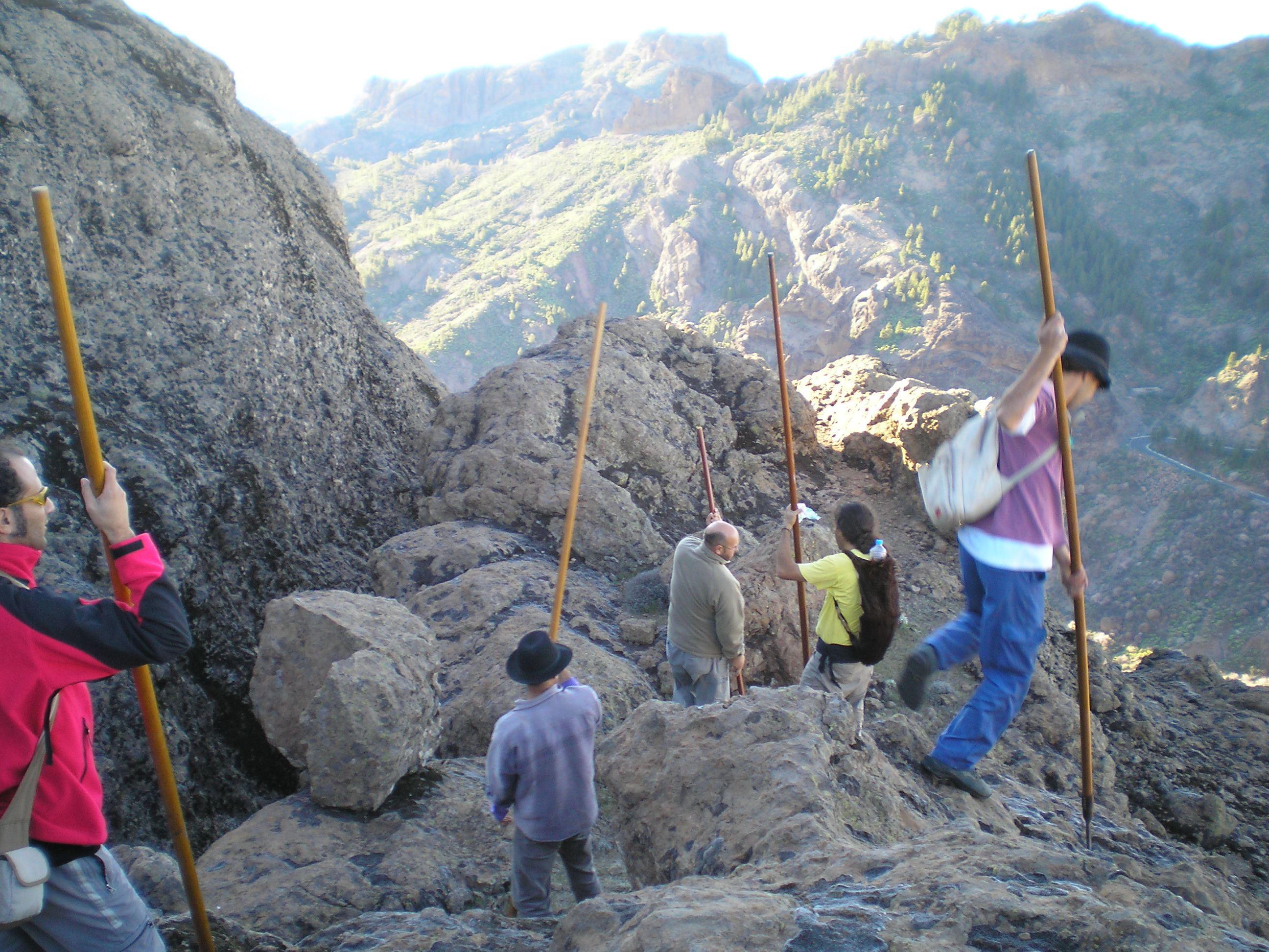 Bergsvandring Hotell Las Tirajanas, Las Palmas Gran Canaria