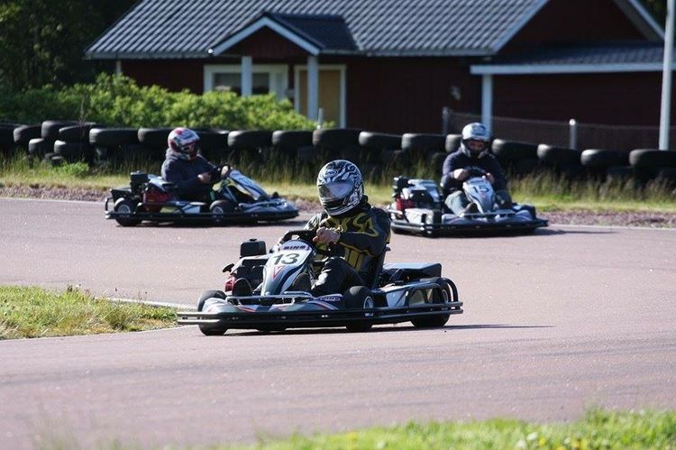 Gokart på Ålands Motorklubb
