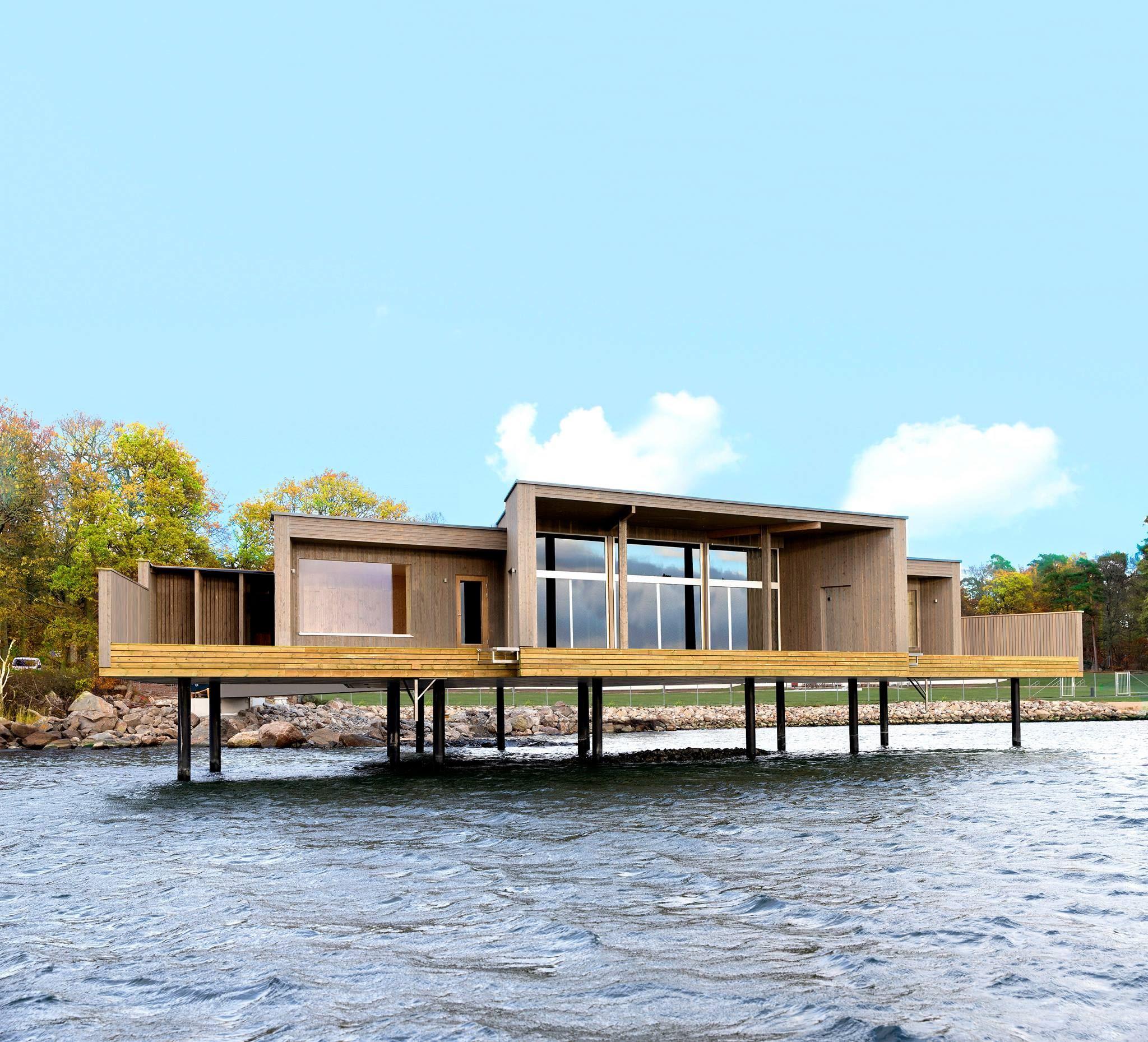 Kallbadhuset - Outdoor swimming bath