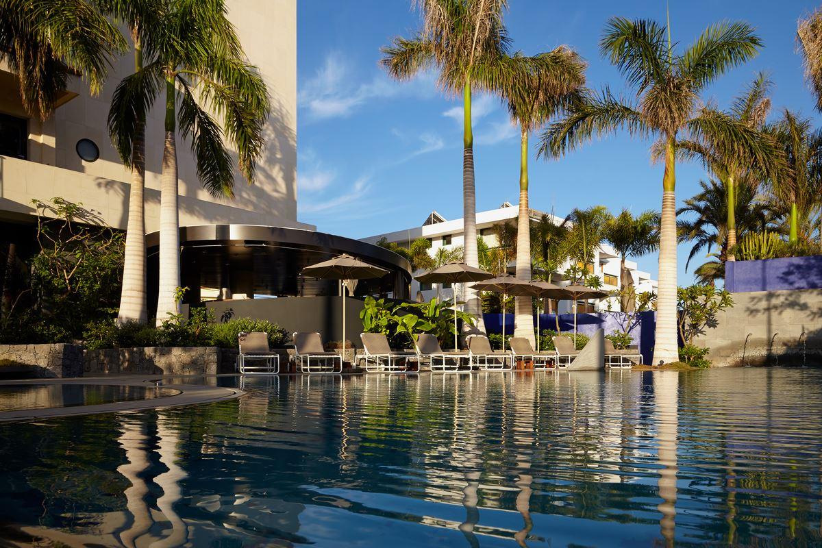 Pool på Hotell Bohemia Suites&Spa, Playa del Inlgés Gran Canaria