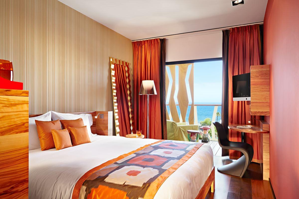 Dubbelrum med havsutsikt Hotell Bohemia Suites&Spa, Playa del Inlgés Gran Canaria