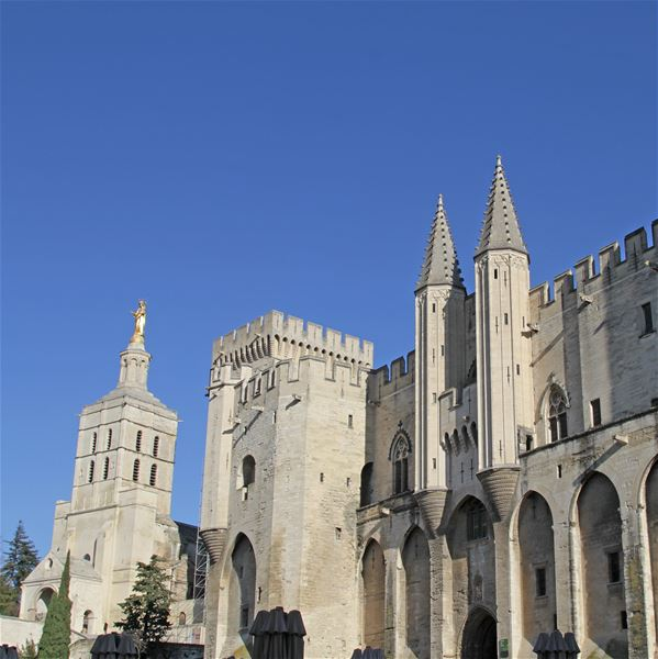 Avignon Walking Tour including Pope's Palace ticket - A la Française ! Provence