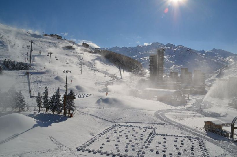 4 Pers Studio ski-in ski-out / LAC DU LOU 408