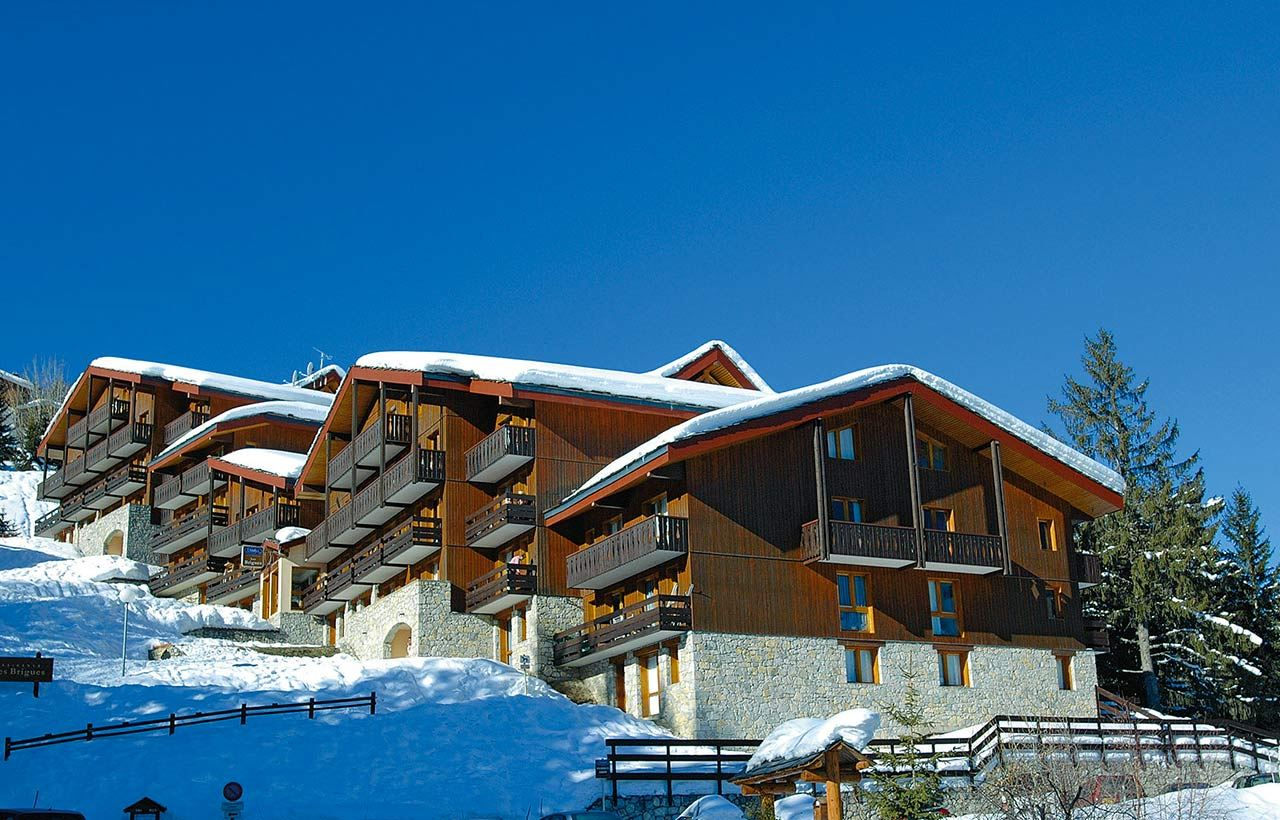 2 rooms 4 people ski-in ski-out / LES BRIGUES 326 (mountain of charm)