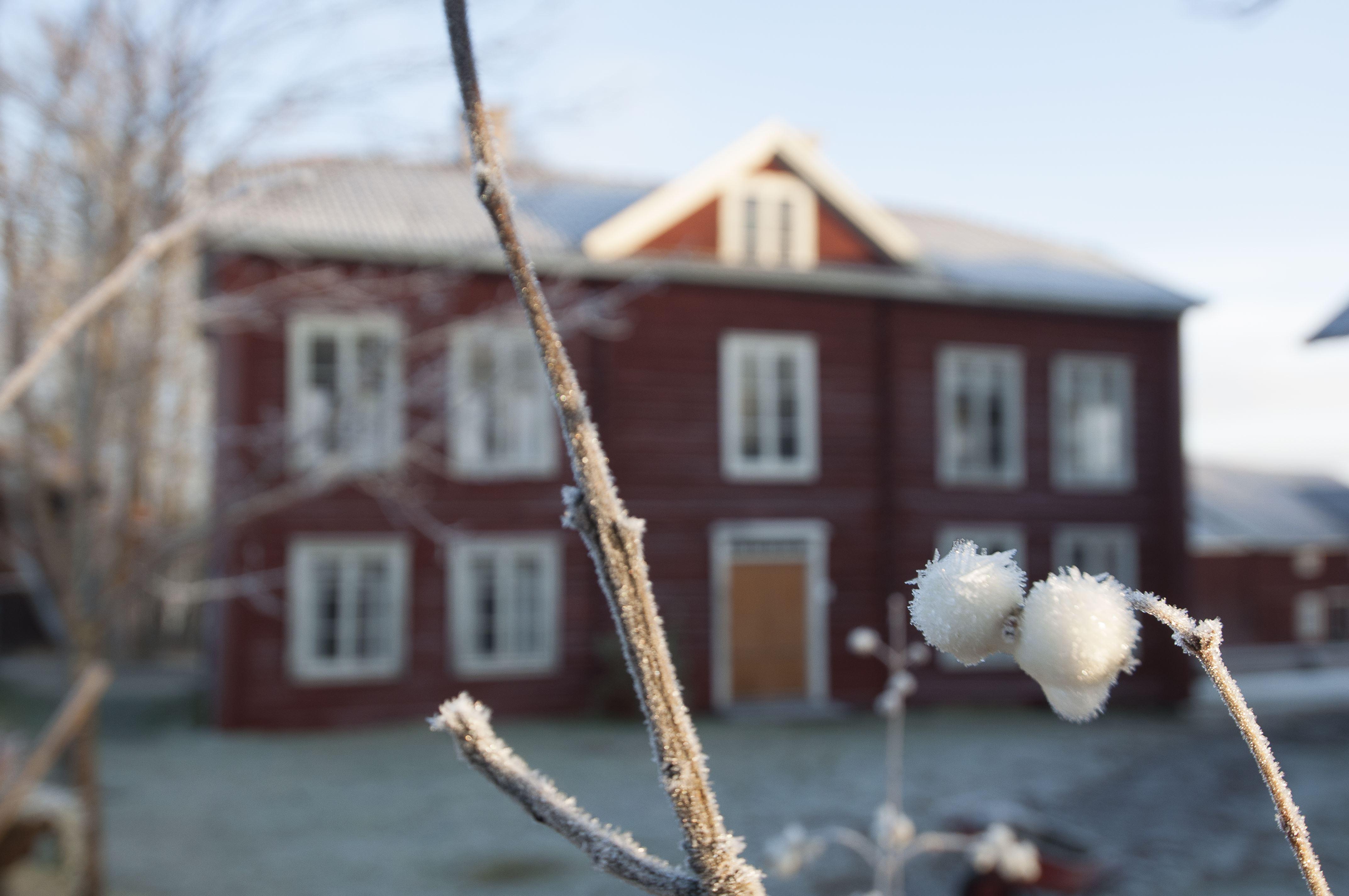 Julstämning på Hälsingegården Erik-Anders