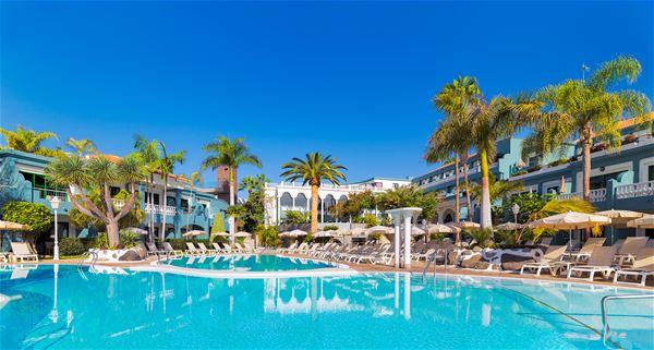 Pool på Hotell Colon Guanahany, Playa de las Americas Teneriffa
