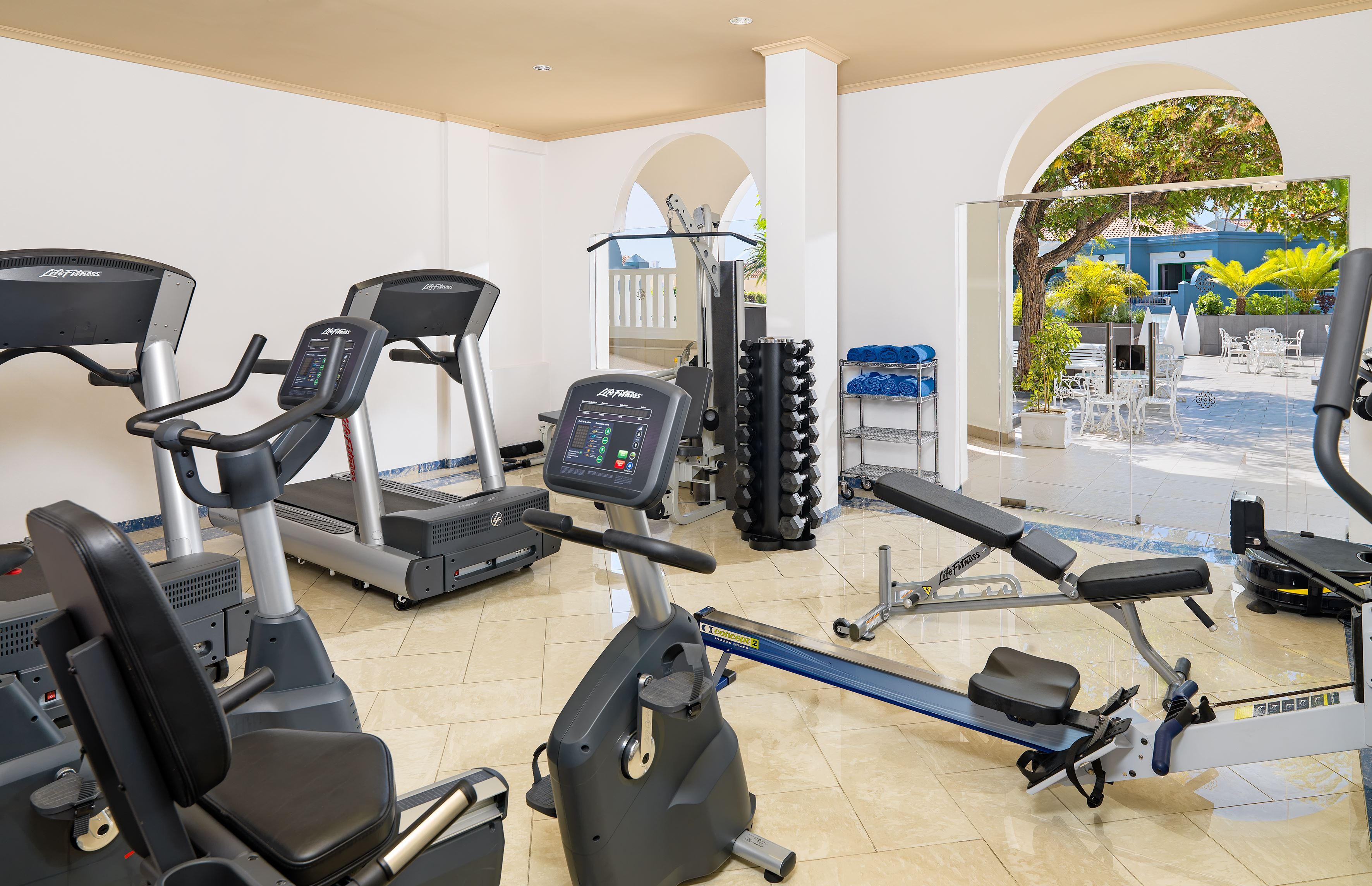 Gym på Hotell Colon Guanahany, Playa de las Americas Teneriffa