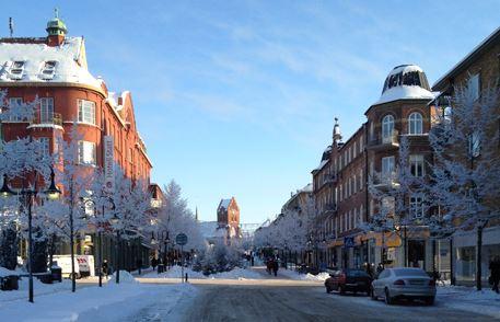 Jul i Hässleholm