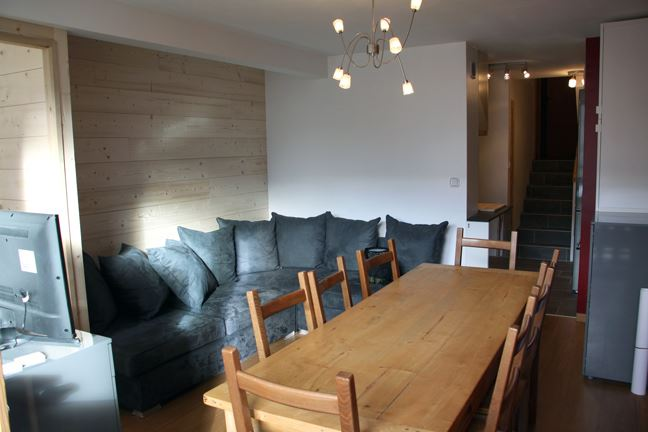 3 room 8 pers ski-in ski-out / LES LAUZES D1