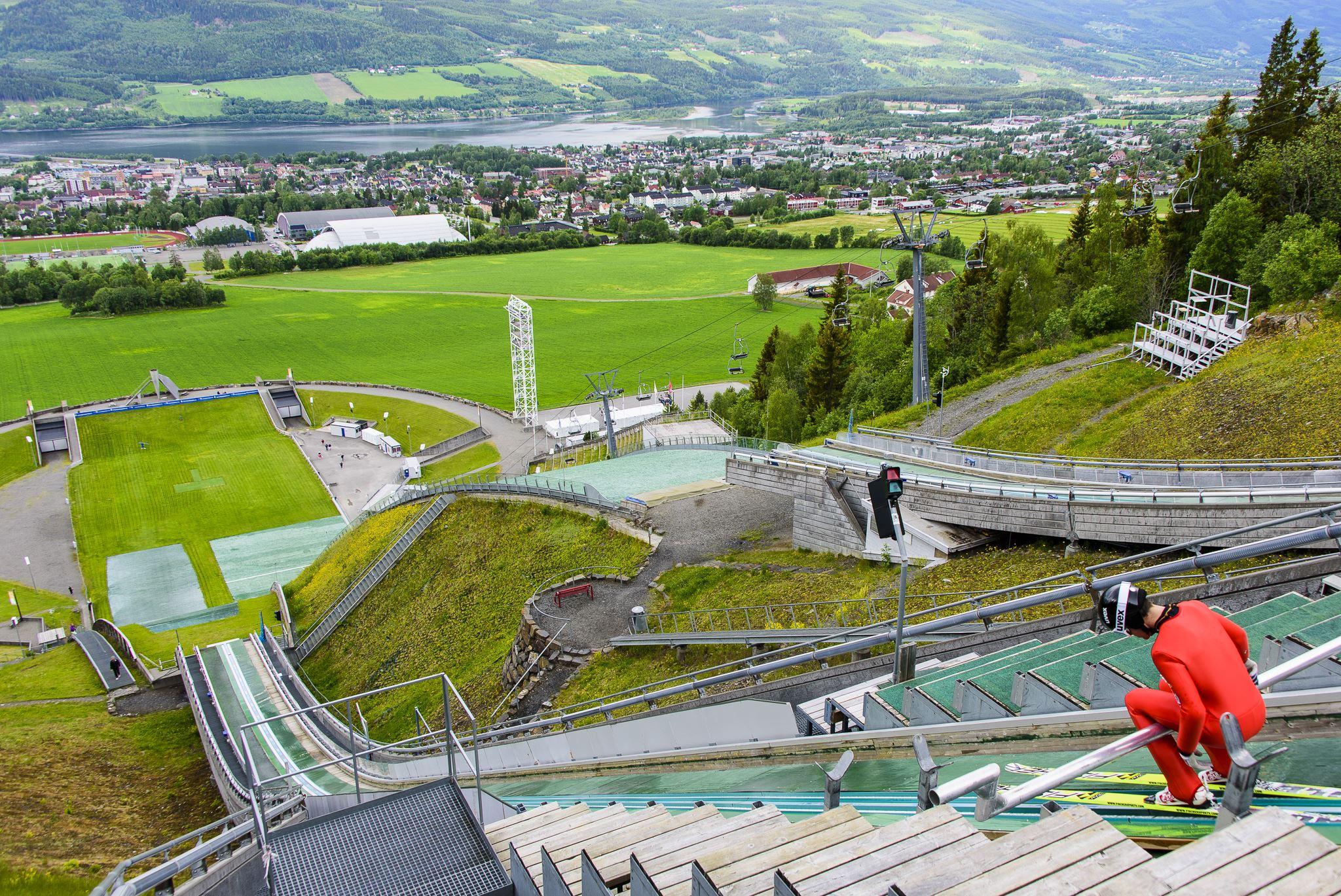 Lysgårdsbakkene Ski Jumping Arena
