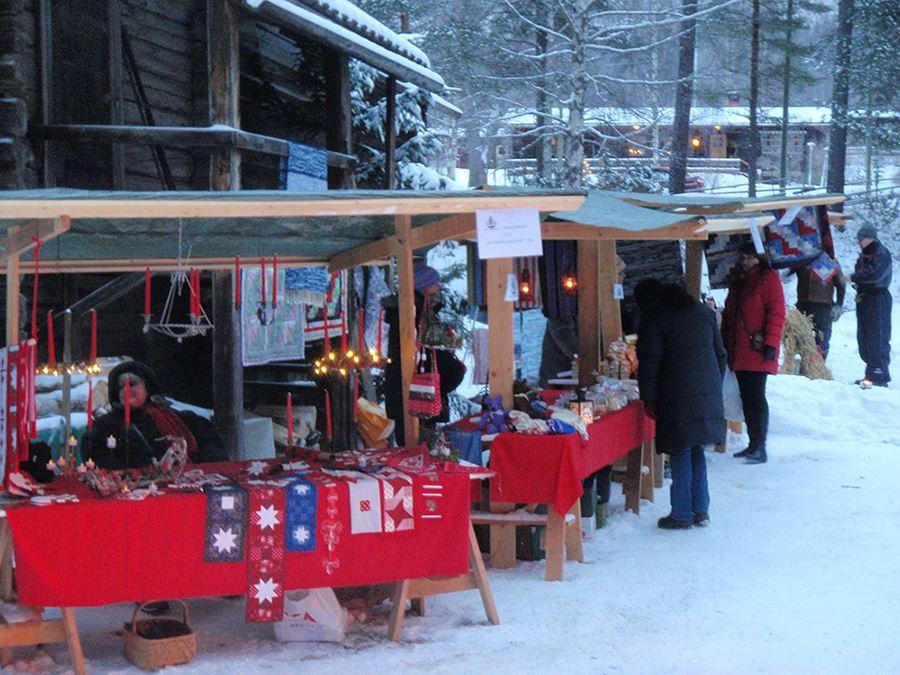 Julmarknad vid Borgsjö Hembygdsgård