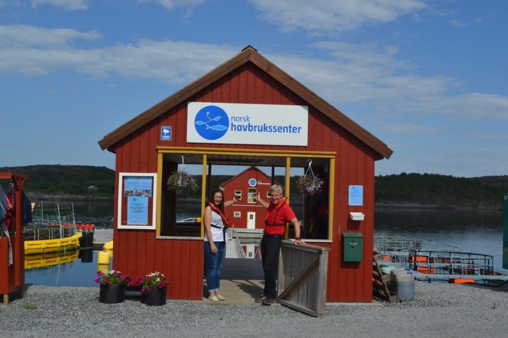 Norsk Havbrukssenter AS - come and experience farmed fish close up!